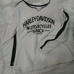 HARLEY / Milwaukee Women's Sweatshirt Medium